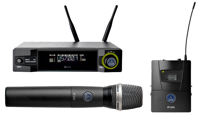 Picture of the AKG WMS4500 Wireless System